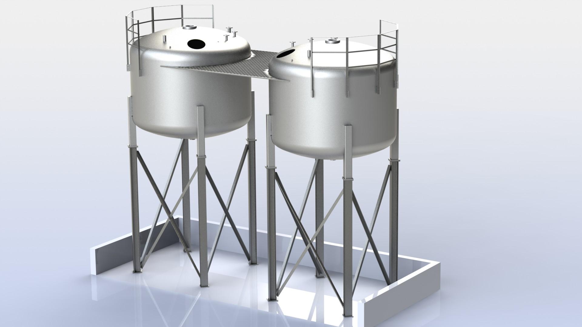 Schlichtebehälter 25,5m² A01 V01